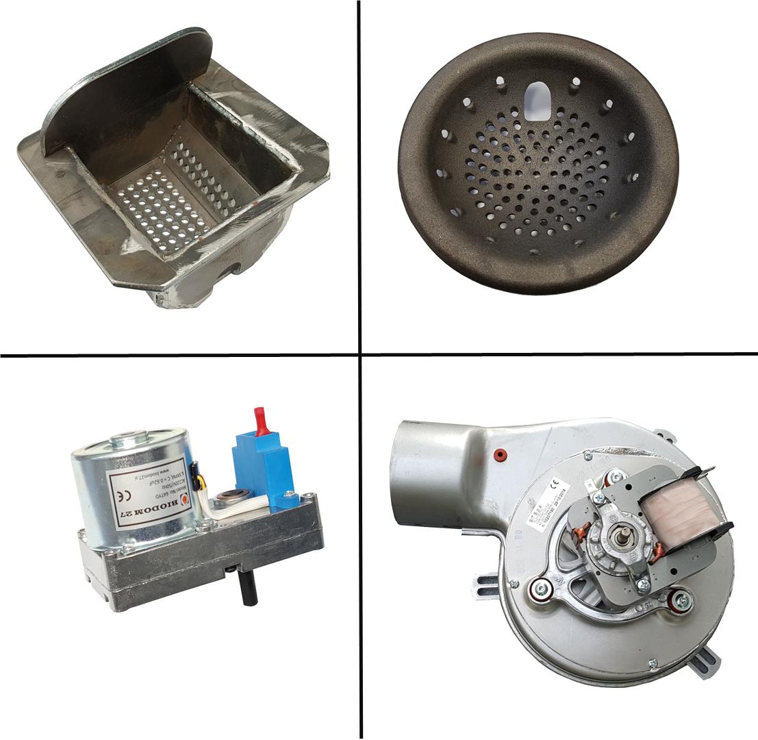 Biodom reserve onderdelen