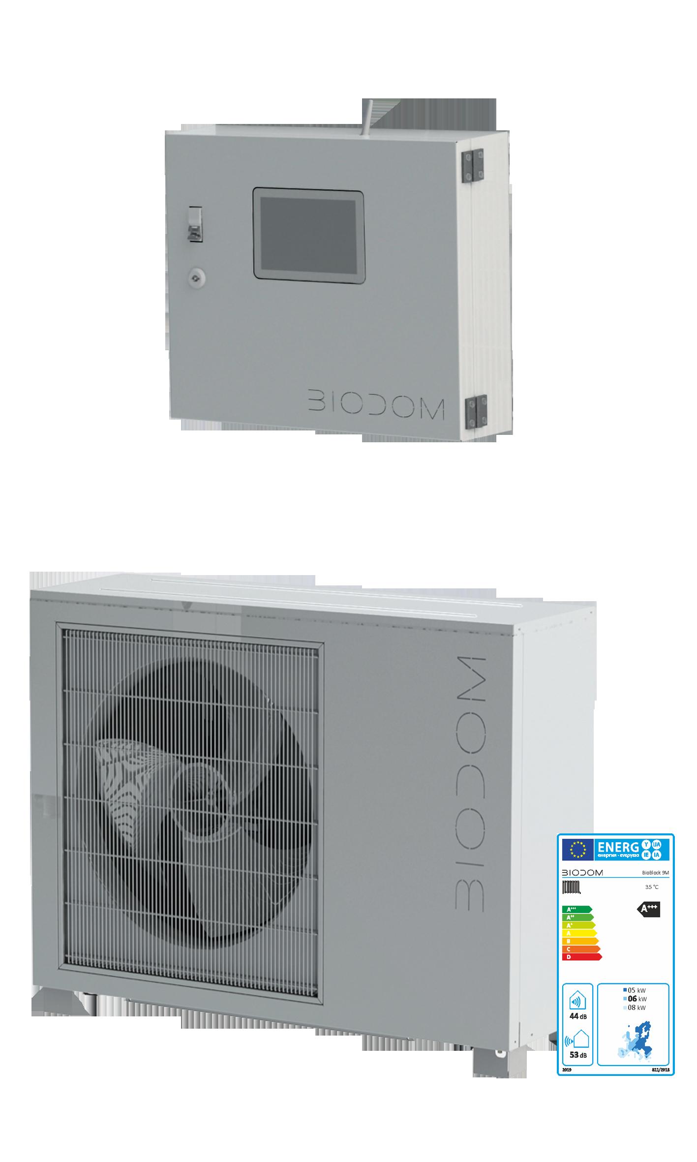Biodom Bioblock warmtepomp All-Electric