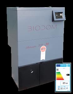 Pelletketel Biodom 27A met energielabel