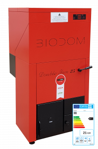 Pelletketel Biodom LX met energielabel